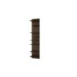 Accentuations by Manhattan Comfort Captivating Nelson Floating Shelf Panel with 8-Shelves in Tobacco