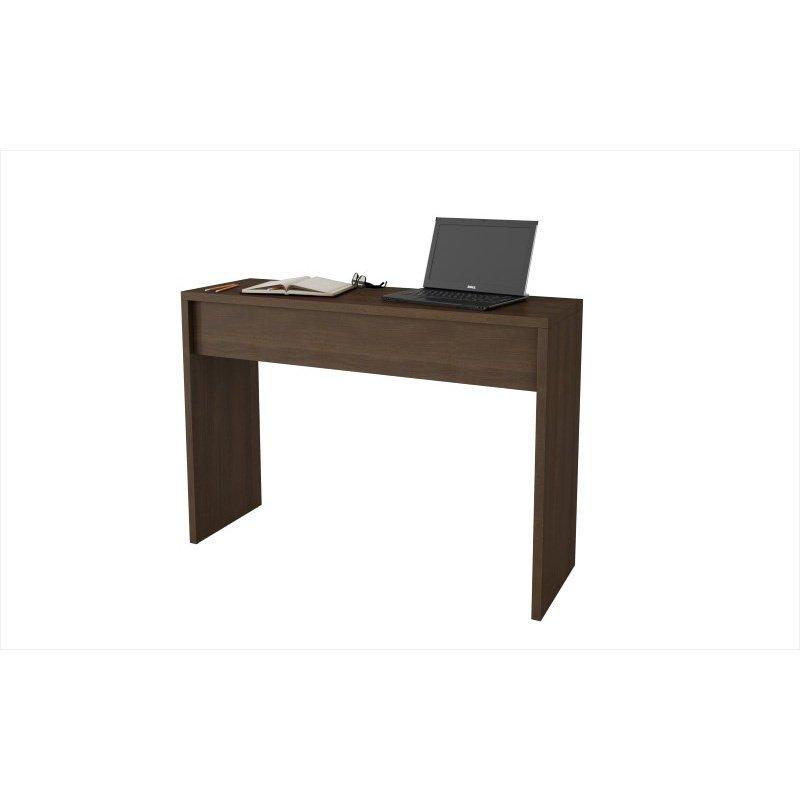Accentuations by Manhattan Comfort Lazio Classic Secretary Desk in Tobacco