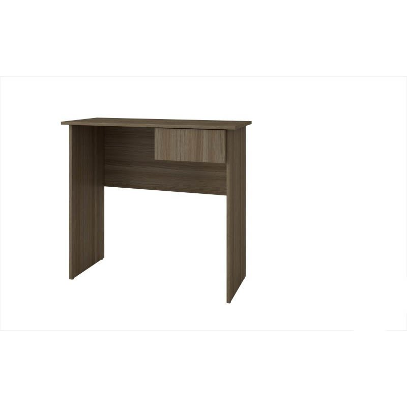Accentuations by Manhattan Comfort Simple Cosenza Work Desk with 1-Drawer in Oak