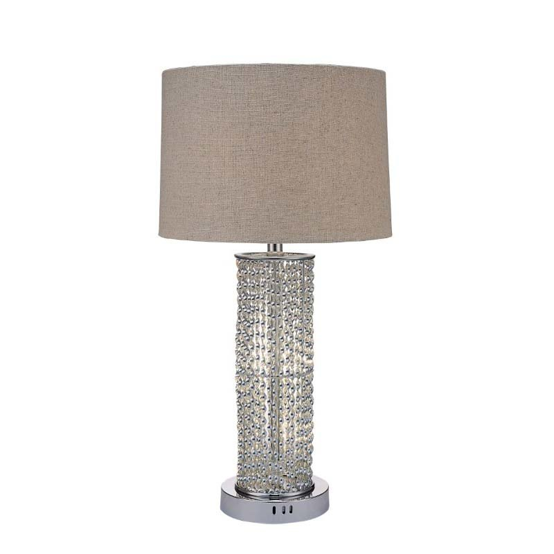 ACME Furniture Amity Table Lamp in Chrome (40121)
