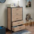 ACME Furniture Bemis Chest in Weathered Light Oak (97274)