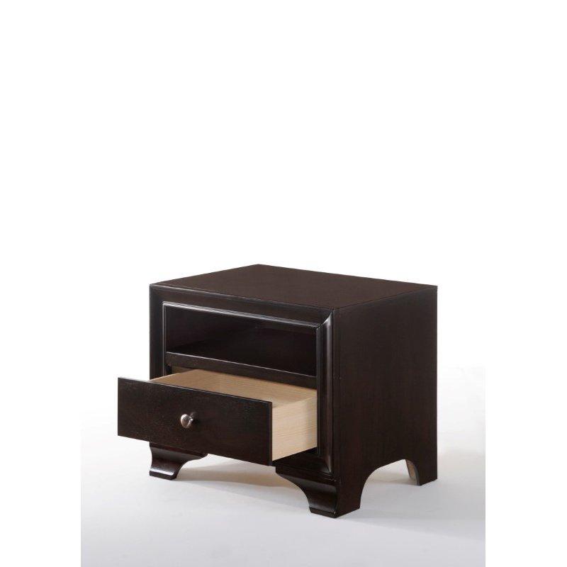 ACME Furniture Blaise 1-Drawer Nightstand in Espresso (97502)