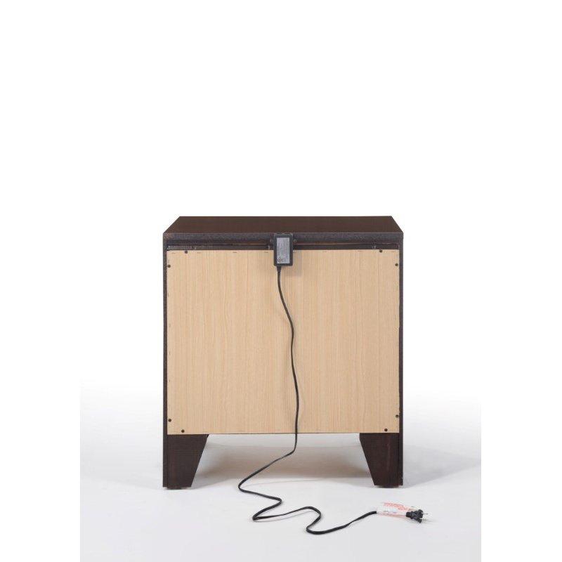 ACME Furniture Blaise 2-Drawer Nightstand in Espresso (97504)