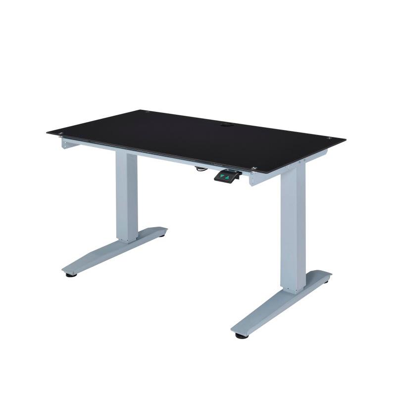 ACME Furniture Bliss Power Lift Desk in Black Glass (92382)