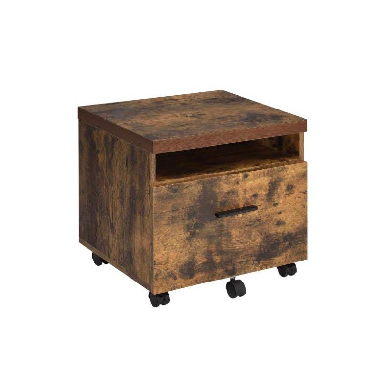 ACME Furniture Bob File Cabinet in Weathered Oak (92398)