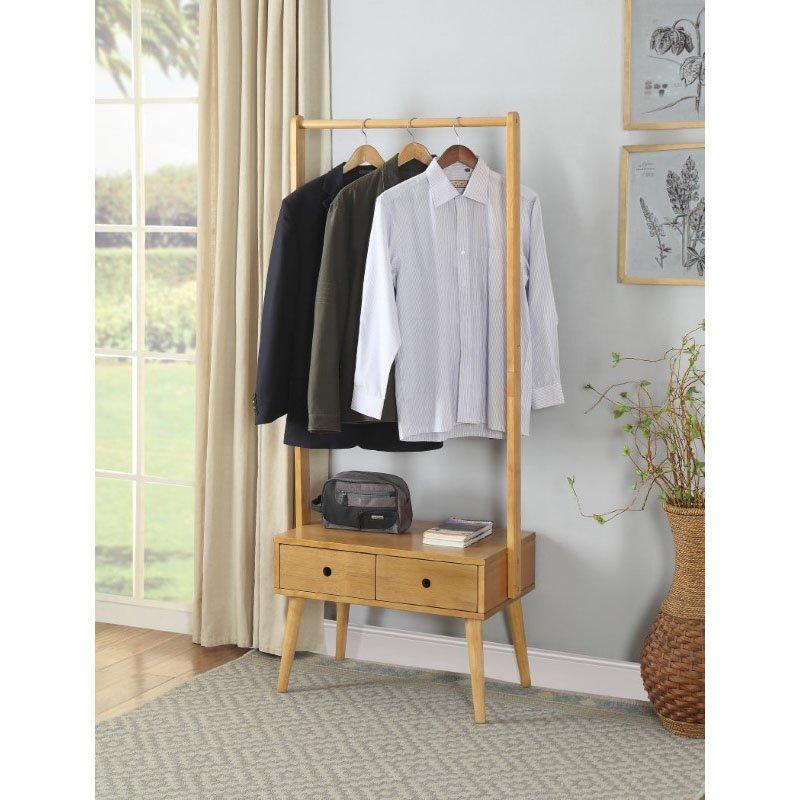 ACME Furniture Rubis Garment Rack in Natural (97070)
