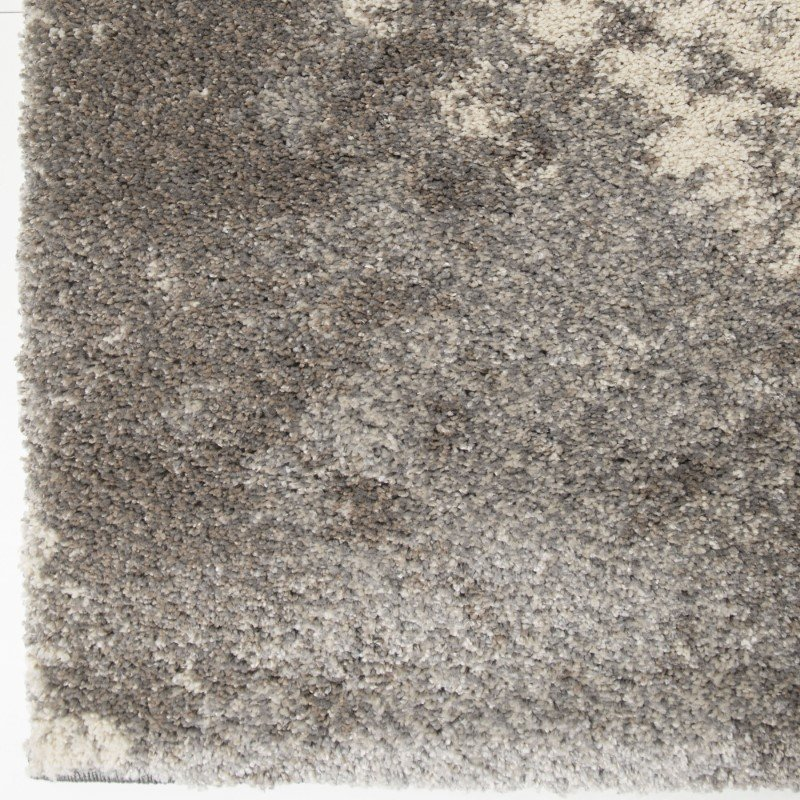 Armen Living Airhaven Contemporary 5' x 8' Area Rug in Cream and Grey (LCAIRU5X8TAU)
