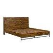Armen Living Cusco Rustic Acacia Platform King Bed (LCCUBDACKG)