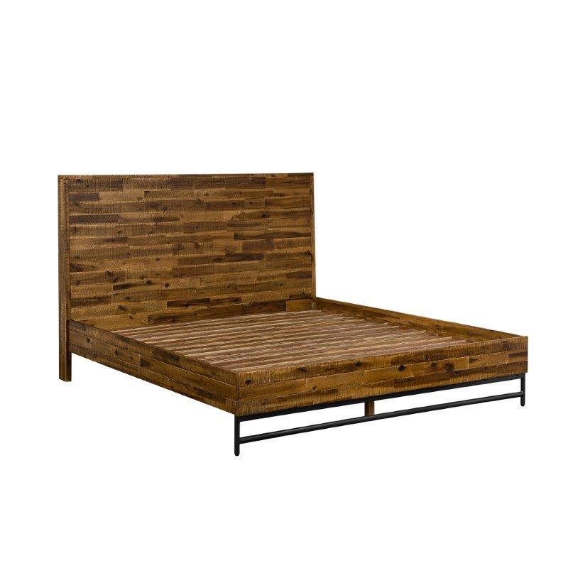 Armen Living Cusco Rustic Acacia Platform Queen Bed (LCCUBDACQN)