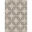 Armen Living Daisy Contemporary 8' x 10' Area Rug in Grey and Cream (LCDSRU8X10SIL)