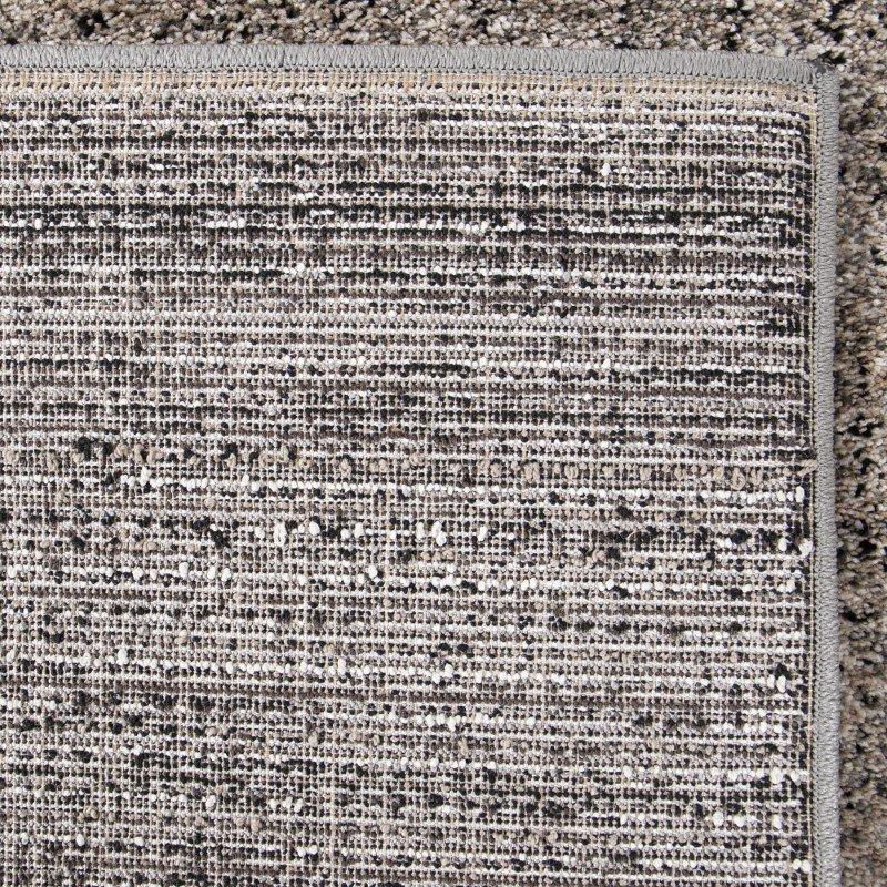 Armen Living Multimix Contemporary 5' x 8' Area Rug in Beige and Black (LCMURU5X8SIL)