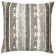 Armen Living Murray Contemporary Decorative Feather and Down Throw Pillow in Stone Jacquard Fabric (LCPIMU20STONE)