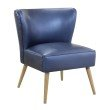Avenue Six Amity Side Chair in Sizzle Azure