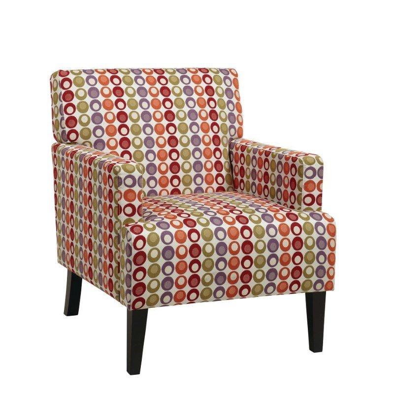 Avenue Six Carrington Arm Chair in Confetti