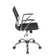 Avenue Six Dorado Office Chair in Black