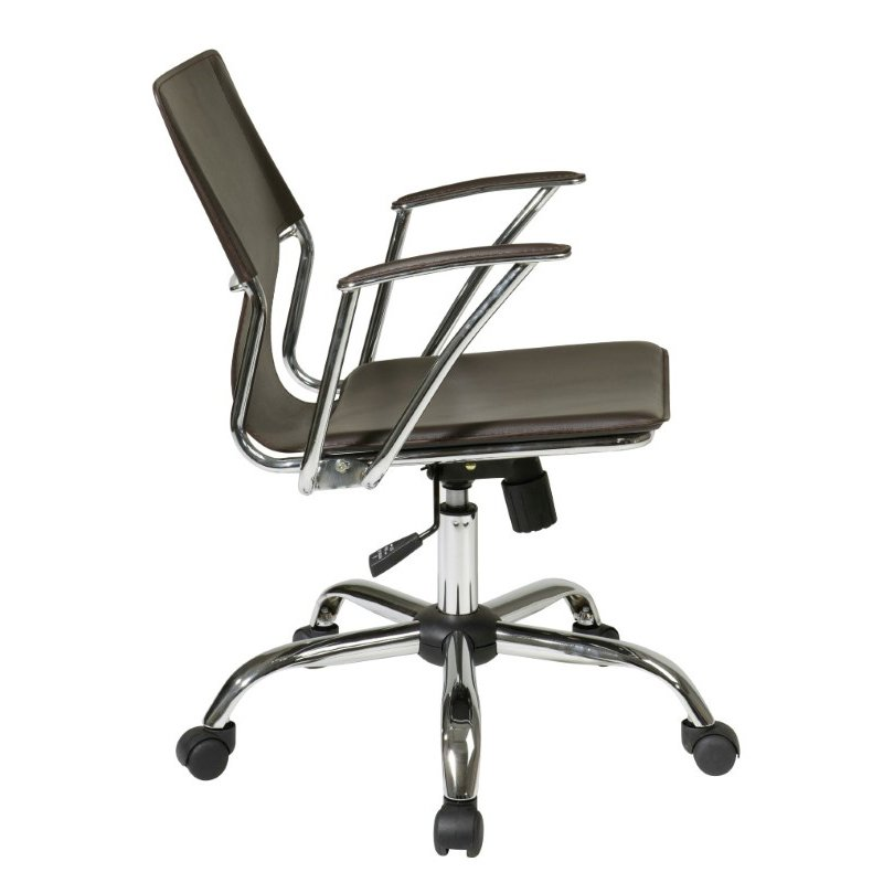 Avenue Six Dorado Office Chair in Espresso