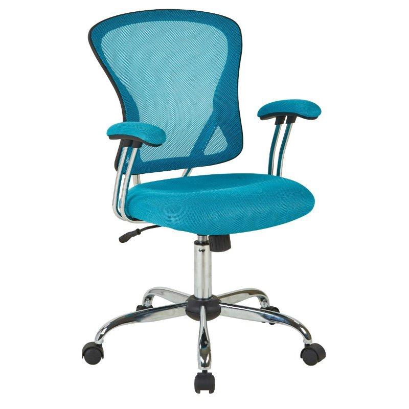 Avenue Six Juliana Task Chair in Blue