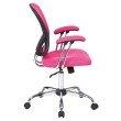 Avenue Six Juliana Task Chair in Pink
