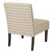 Avenue Six Laguna Chair in Celtic Flax-Dark Side