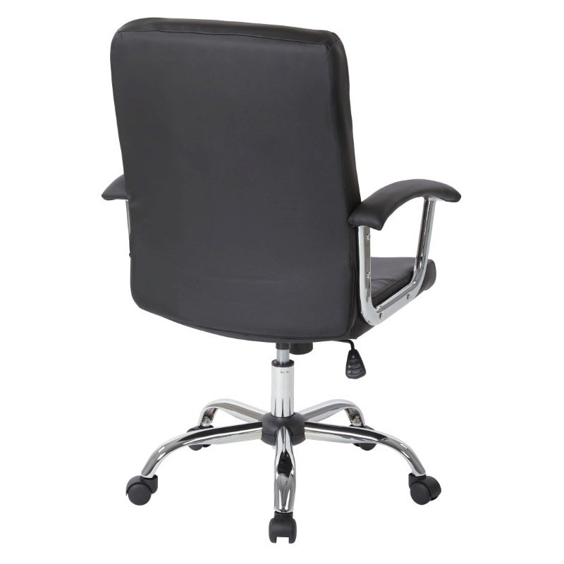 Avenue Six Malta Office Chair in Black