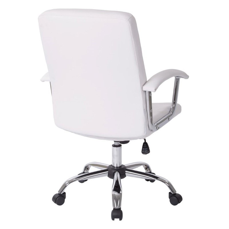Avenue Six Malta Office Chair in White