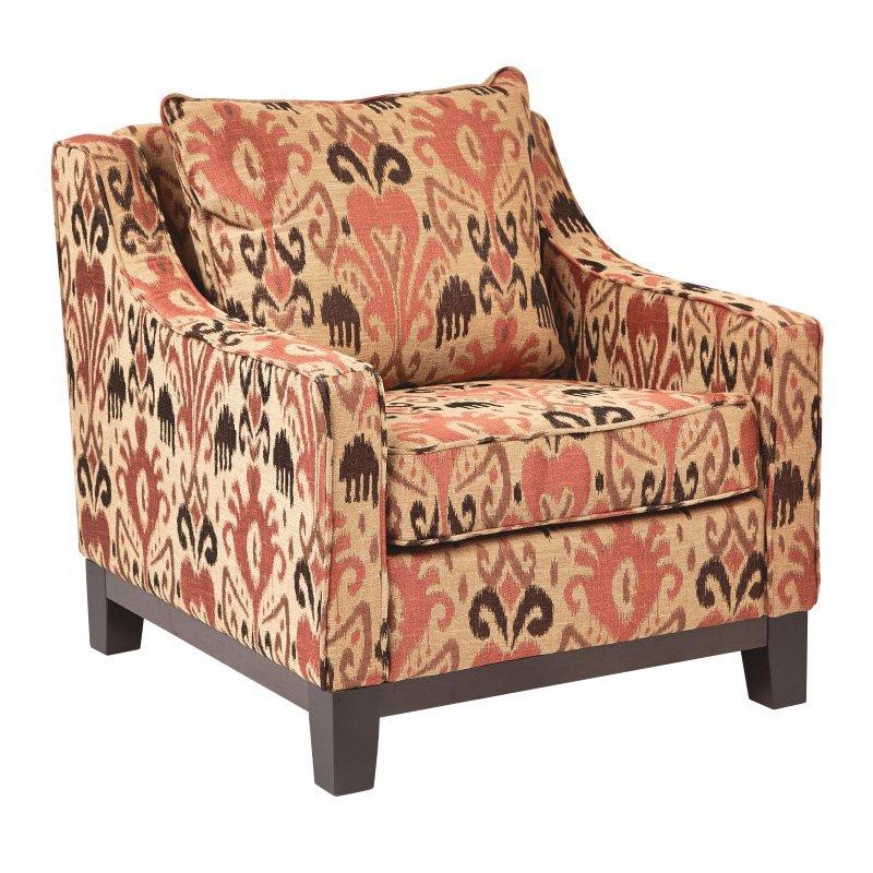 Avenue Six Regent Chair in Arizona Rust