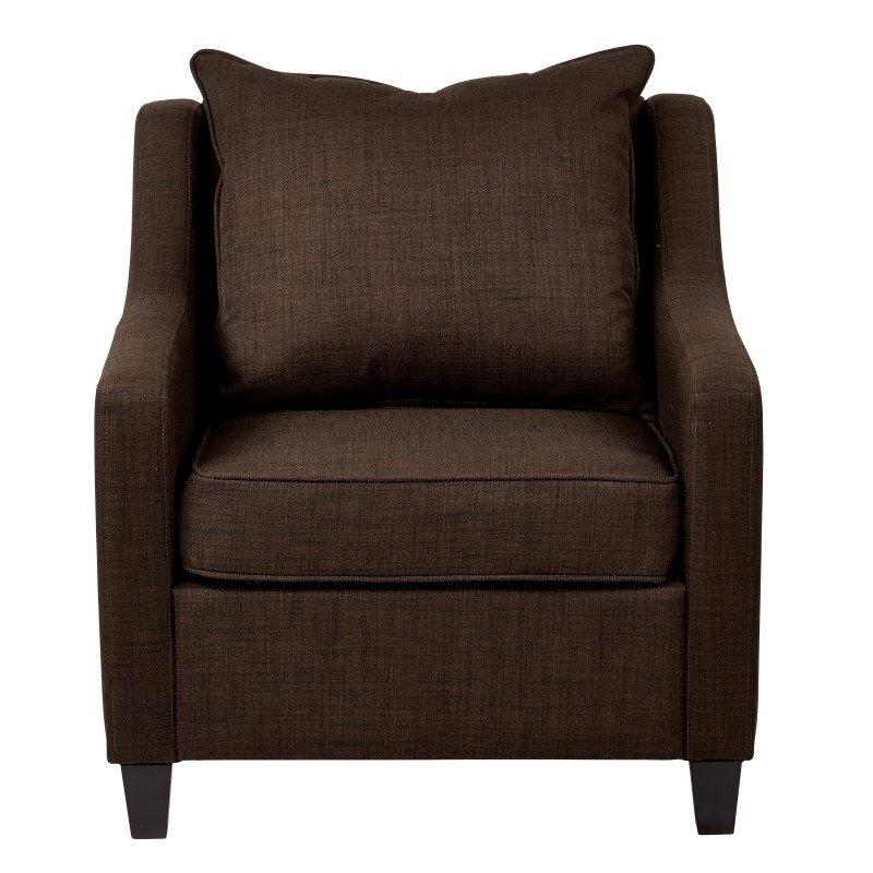 Avenue Six Regent Chair in Milford Java