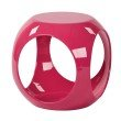Avenue Six Slick Accent Table in Pink