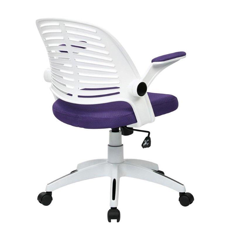 Avenue Six Tyler Office Chair in Purple