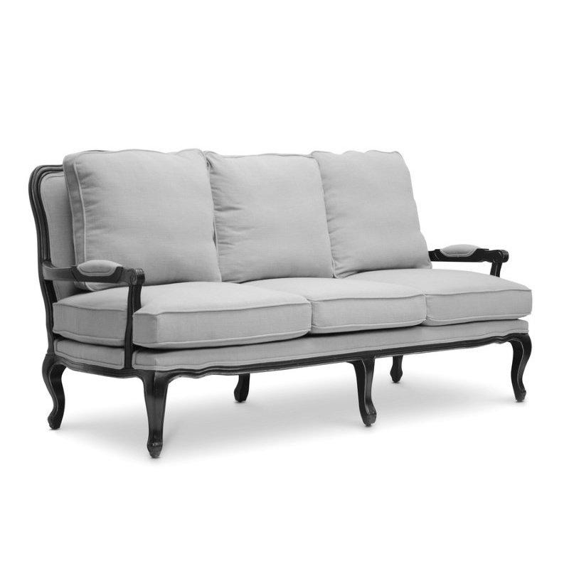 Baxton Studio Antoinette Classic Antiqued French Sofa