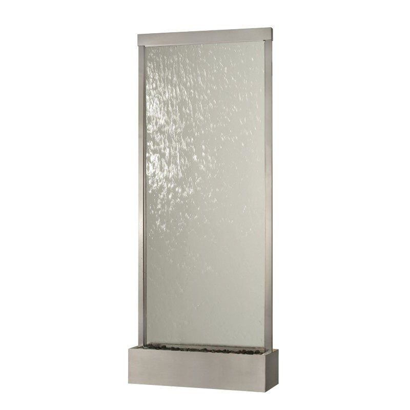 Bluworld HOMelements 10' Grande in Clear Glass with Brushed Stainless (GR10SC)