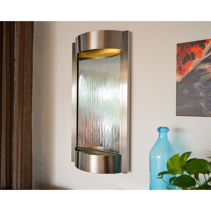 Bluworld HOMelements Contempo Contempo Luna Stainless Steel with Silver Mirror (CL3SS)