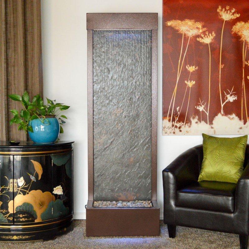 Bluworld HOMelements Gardenfall 6' Coppervein Gardenfall with Slate Panel (GF6CS)