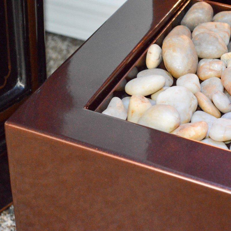 Bluworld HOMelements Gardenfall 6' Dark Copper Gardenfall with Bronze Mirror (GF6WM)