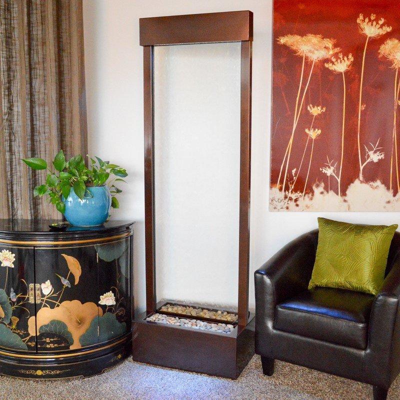 Bluworld HOMelements Gardenfall 6' Dark Copper Gardenfall with Clear Glass (GF6WG)