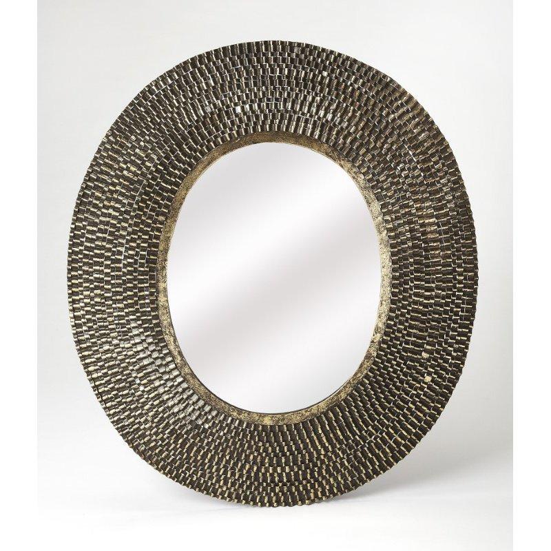 Butler Specialty Adaline Oval Metal Wall Mirror (4419400)