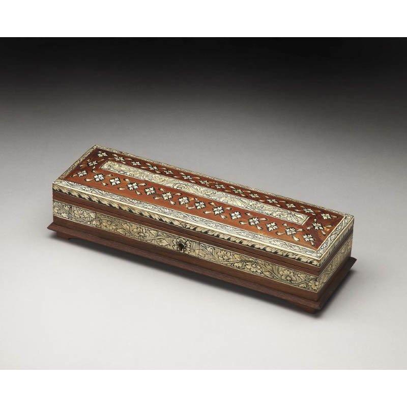 Butler Specialty Agra Bone Inlay Storage Box