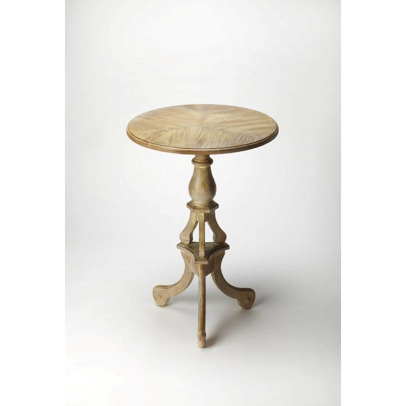 Butler Specialty Allenby Driftwood Pedestal Table