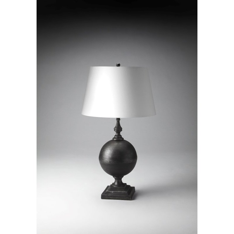 Butler Specialty Antique Black Table Lamp (7117116)