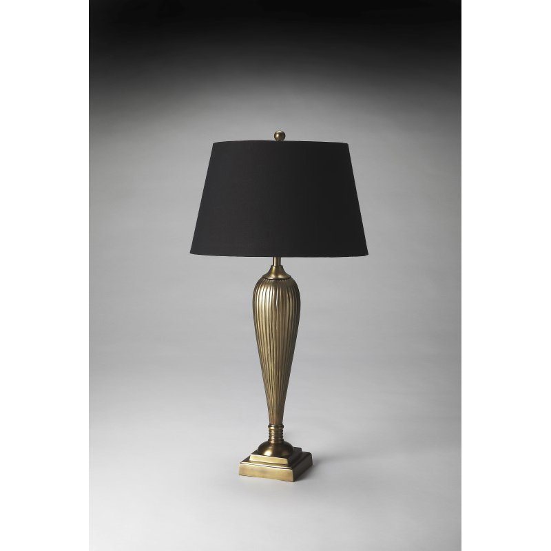 Butler Specialty Antique Brass Finish Table Lamp (7131116)