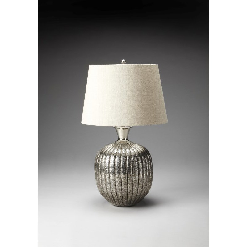 Butler Specialty Antique Nickel Table Lamp (7120116)