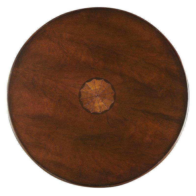 Butler Specialty Archambault Antique Cherry Pedestal Table