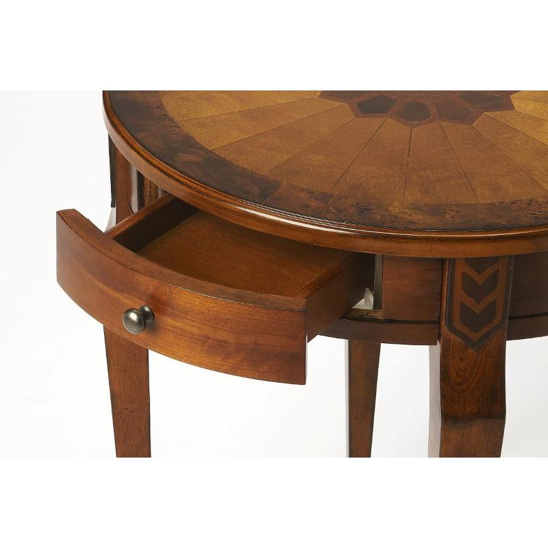 Butler Specialty Archer Olive Ash Burl Side Table