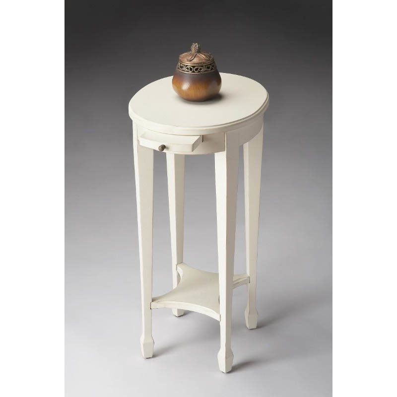 Butler Specialty Arielle Cottage White Accent Table
