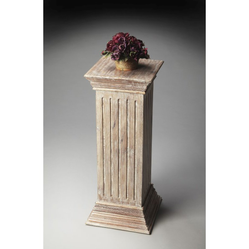 Butler Specialty Artifacts Solid Wood Pedestal (2379290)