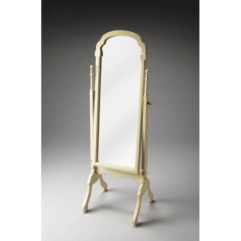 Butler Specialty Artists Originals Cheval Mirror in Cottage White