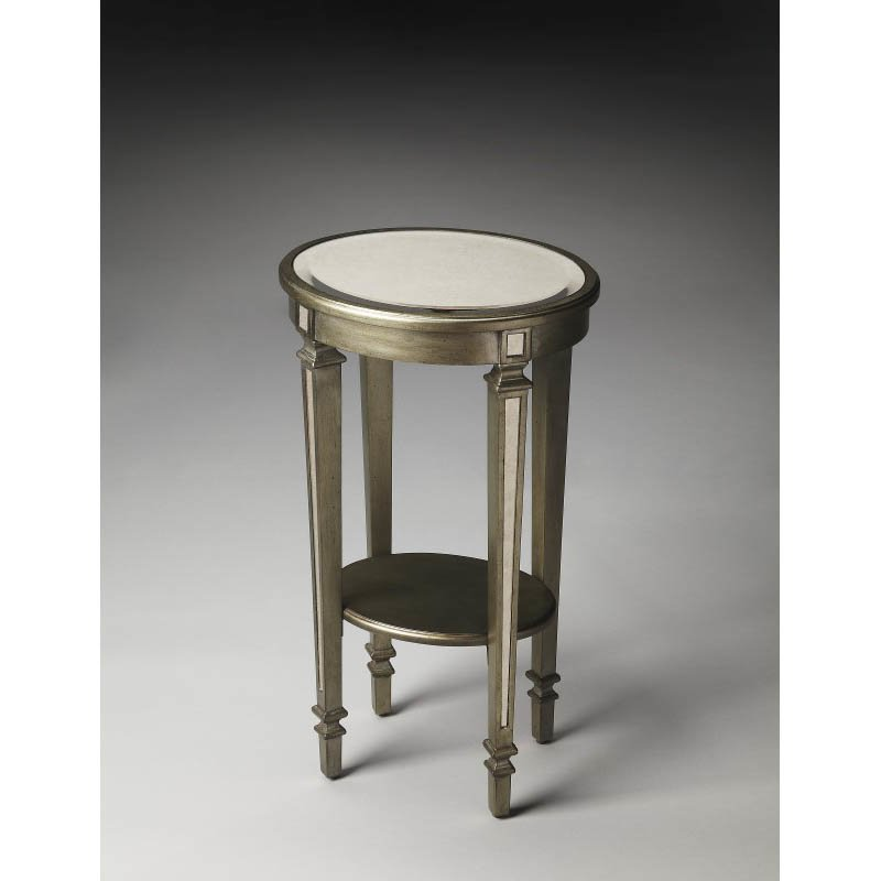 Butler Specialty Ava Mirrored Accent Table