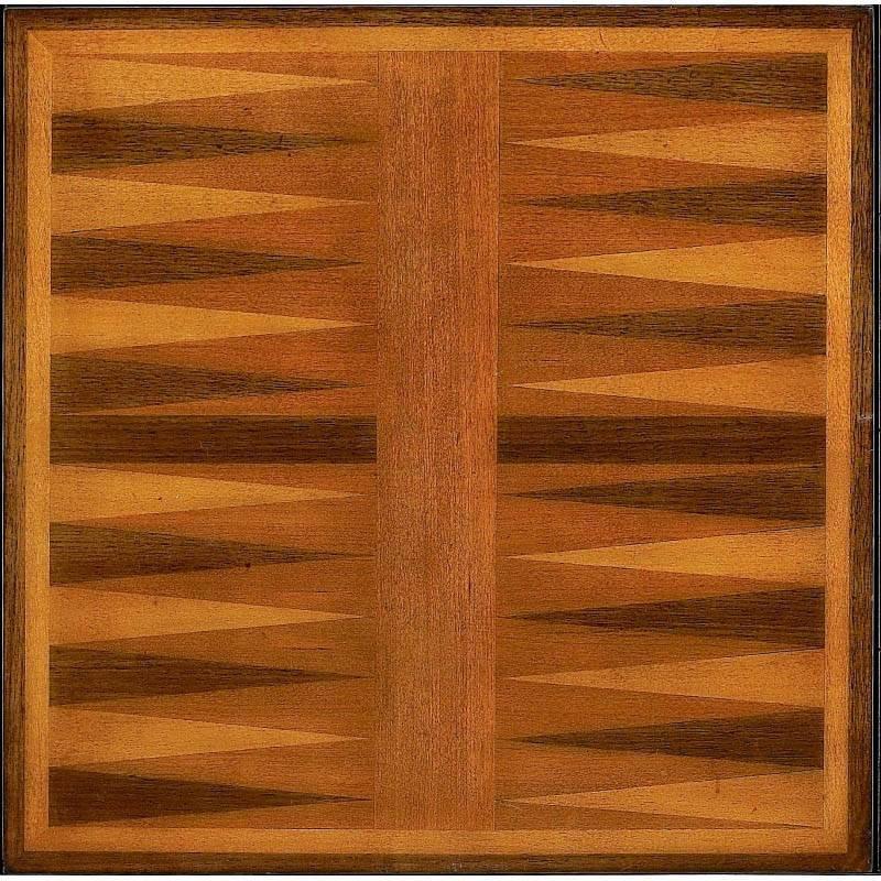 Butler Specialty Bannockburn Olive Ash Burl Game Table