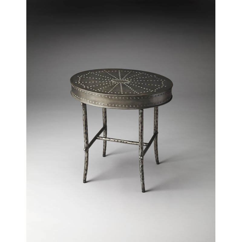 Butler Specialty Bannon Industrial Chic Accent Table