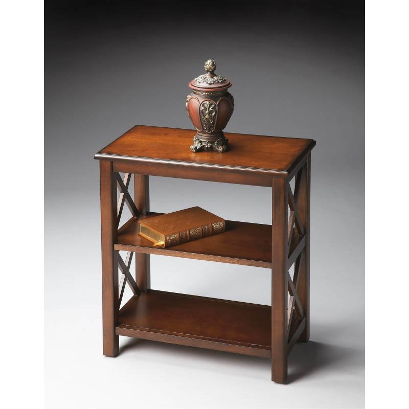 Butler Specialty Bookcase in Plantation Cherry